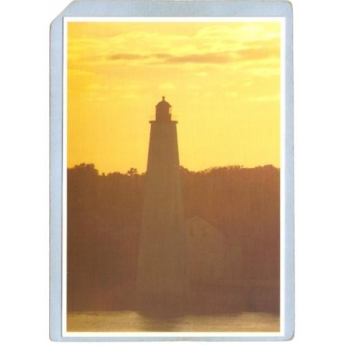 CT New London Lighthouse Postcard New London Ligththouse lighthouse_box1, ~75