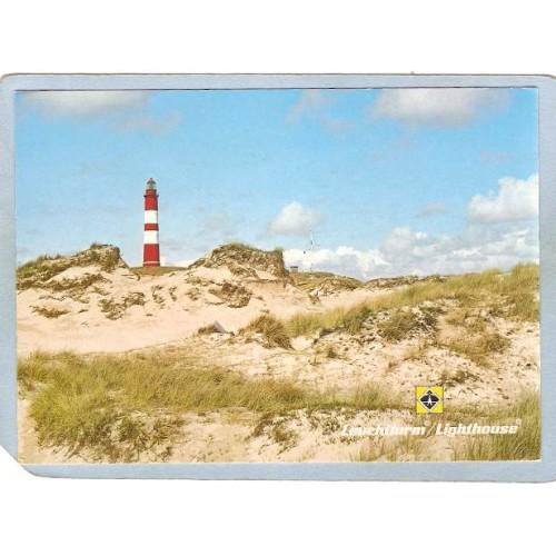 GER Germany Lighthouse Postcard Lighthouse On Amrum Island lighthouse_box2~1002