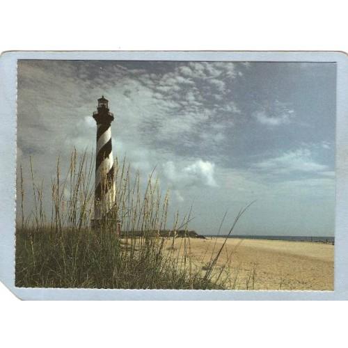NC Buxton Lighthouse Postcard Cape Hatteras Lighthouse lighthouse_box2~825