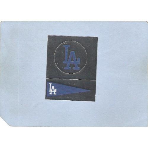 CA Los Angeles Sport Baseball 1988 Panini Sticker Los Angeles Dodgers Back~153