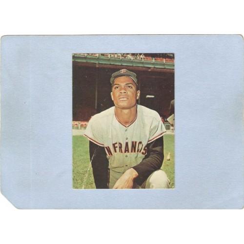 NJ Oradell Sport Baseball Felipe Alou SF Giants Card From Religious Tract ~161