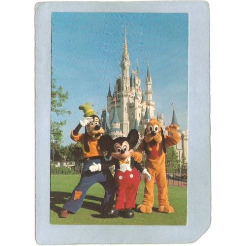 FL Orlando Amusement Park Postcard Walt Disney World You're As Welcome As ~265