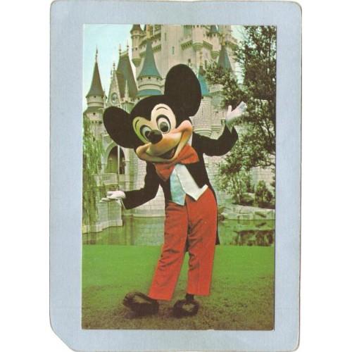 FL Orlando Amusement Park Postcard Walt Disney World Welcome To The Magic ~268
