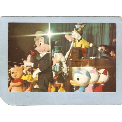 FL Orlando Amusement Park Postcard Walt Disney World The Mickey Mouse Revu~273