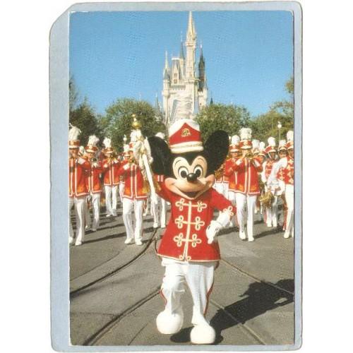 FL Orlando Amusement Park Postcard Walt Disney World Strike Up The Band to~281