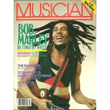 BOB MARLEY Musician Magazine 1983