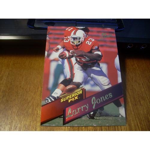 1995 Superior Pix Football NFL Draft  103 Larry Jones Miami