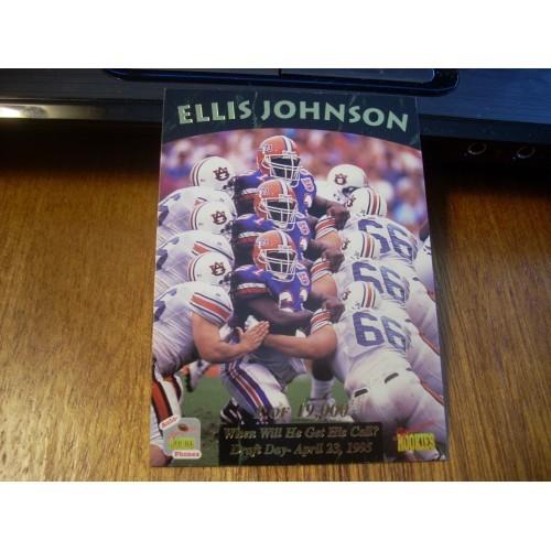 1995 Signiture Rookies Auto Phonex 31 Ellis Johnson Florida