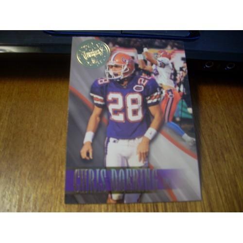 1996 Press Pass Premium NFL 46 Chris Doering Florida Gators