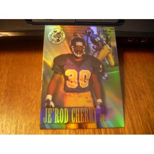 1996 Press Pass Premium NFL College Draft Jerod Cherry California HOLOFOIL Varia