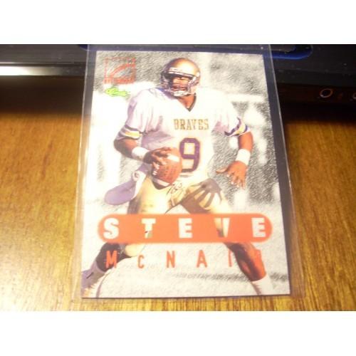 1996 Classic Football NFL College Draft 76 Steve McNair Alcorn State