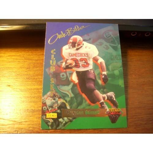 1995 Signiture Rookies Autobilia NFL College Draft Brandon Bennett S. Carolina