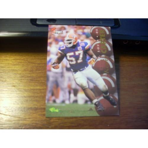 1995 Classic 5 Sport NFL College Draft Card 48 Kevin Carter Florida Gators
