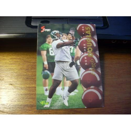 1995 Classic 5 Sport NFL College Football Draft 58 Hugh Douglas New York Jets
