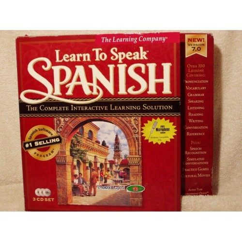Learn to Speak Spanish, v7.0, PC CD set, TLC