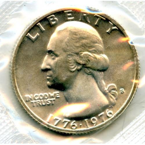 1976s Washington Quarter Silver in Cello