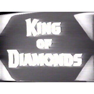 Classic DVD Collection - KING OF DIAMONDS - 1960 Broderick Crawford w/case