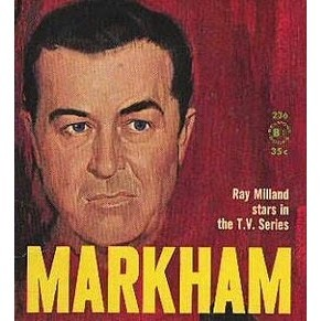 Classic DVD Collection - MARKHAM - 1950s Crime Drama Ray Milland
