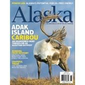 Alaska Magazine June 2010 Caribou Adak Redoubt AK Back Issue