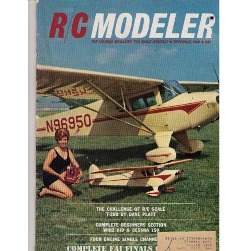 Radio Control Modeler  - model aviation R/C magazine - December 1966