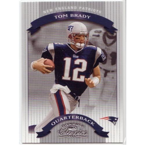 Tom Brady 2002 Donruss Classics #75 Mint