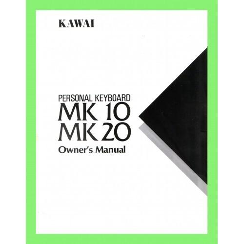 KAWAI MK 10 / MK 20 OWNERS MANUAL