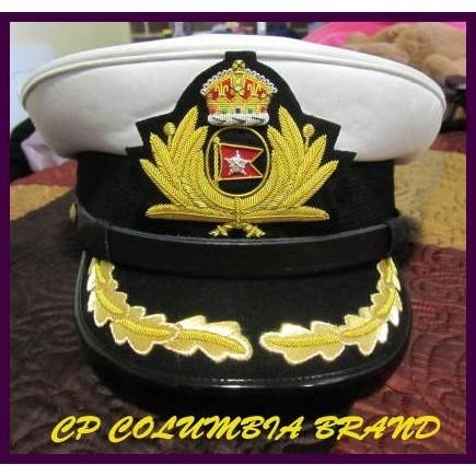 WHITE STAR LINE TITANIC SHIP CAPTAIN SMITH HAT 60 Size White - NEW CP MADE