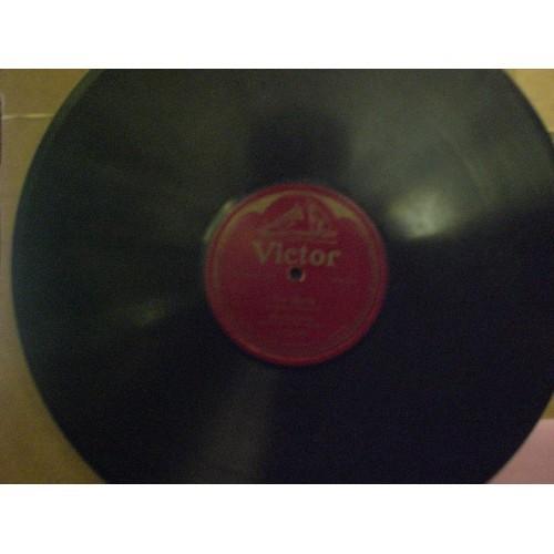 12 INCH 78 RPM WWI ERA:  MISCHA ELMAN - AVE MARIA .... VICTOR 74339 .... VG+ ...