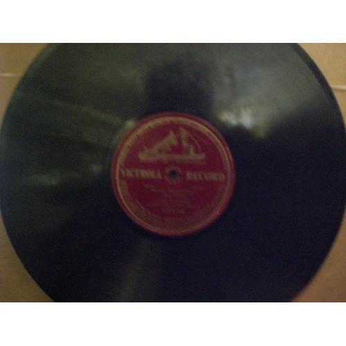 12 INCH 78 RPM PRE WWI:  LUISA TETRAZZINI - BONNIE SWEET BESSIE .... VICTROLA