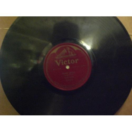 12 INCH 78 RPM WWI ERA:  NELLIE MELBA - ANNIE LAURIE .... VICTOR 88551 .... VG .