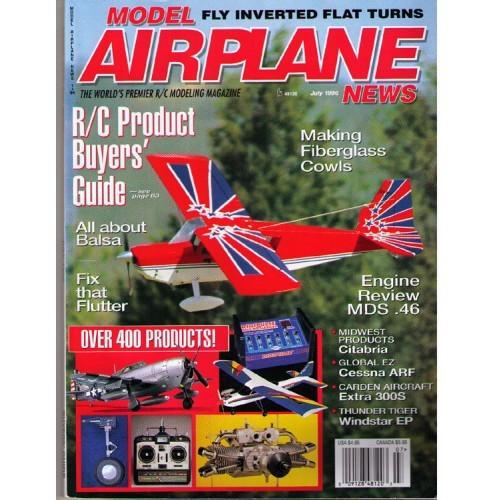 Model Airplane News aviation model magazine - 1996 July