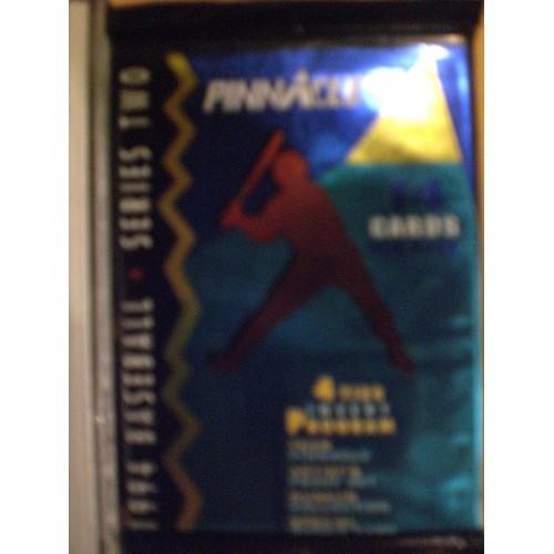 1 PACK OF 1994 PINNACLE BASEBALL SERIES 2 SPORTS  CARDS ... 14 CARDS PER PACK ..