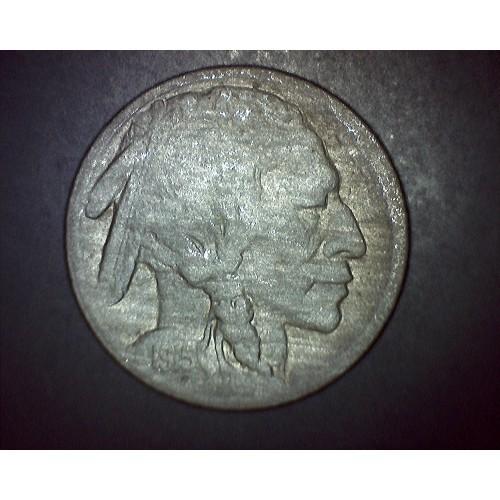 Coin Number E15: 1915 Buffalo Nickel - VG-8 Condition