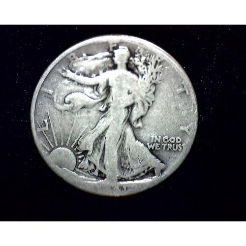 1941 Walking Liberty Half Dollar - Coin #A104 - G4 Condition