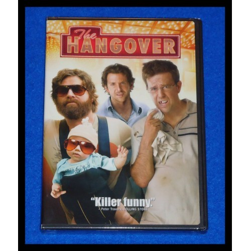 *BRAND NEW* HANGOVER DVD IN ITS ORIGINAL WRAPPING BRADLEY COOPER ED HELMS VEGAS