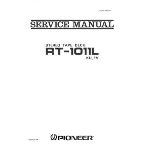 Pioneer RT-10llL Reel Service Manual