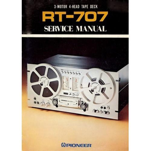 Pioneer RT-707 Reel Service Manual
