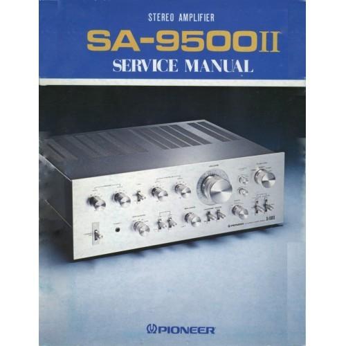 Pioneer SA-9500 II  Amplifier Service Manual