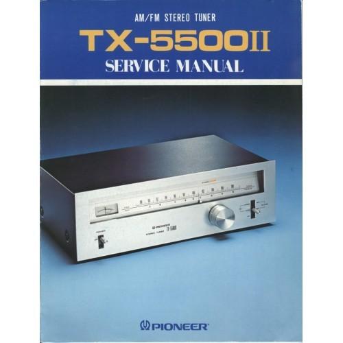 Pioneer TX-5500 II Tuner Service Manual