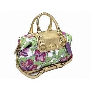 Coach Limited Edition ASHLEY SABRINA Floral Multi Satchel - F16177