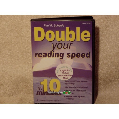 Double Your Reading Speed in 10 Minutes, CD, Scheele/Learning Strategies