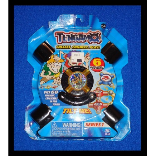 TENGAMO 6 CHARACTERS SERIES 1 COLLECTIBLE GAME STEELER COLLECTOR'S GUIDE SPINNER