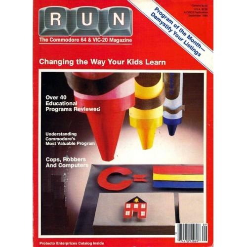 Run Commodore Magazine September 1984