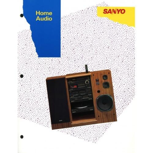 Sanyo Home Audio Sales Brochure (B)