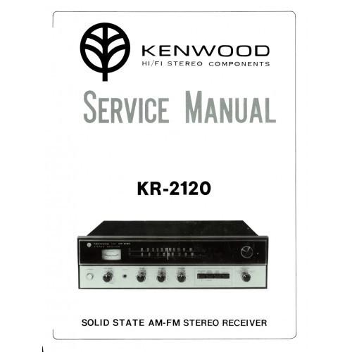 Kenwood KR-2120 Receiver Service Manual