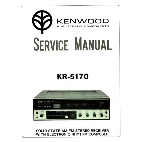 Kenwood KR-5170 Receiver Service Manual