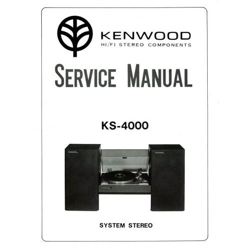 Kenwood KS-4000 System Service Manual