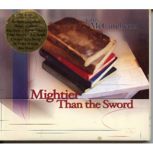 "John McCutcheon - ""Mightier Than THe Sword"" - CD"