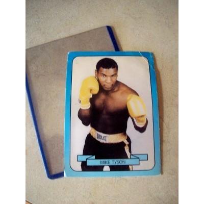 MIKE TYSON 1990 LIVING LEGEND BOXING CARD SERIES 1 NO. 18 EVERLAST BELT