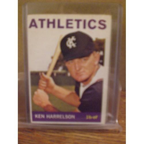 BASEBALL CARD: 1964 TOPPS 419 KEN HARRELSON EX